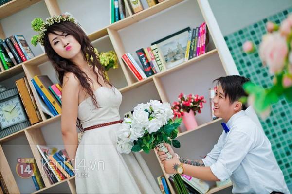 Cặp đôi đồng tính nữ ở Sài Gòn hạnh phúc trong ngày cưới 1417508960_8