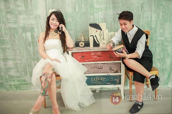 Cặp đôi đồng tính nữ ở Sài Gòn hạnh phúc trong ngày cưới 1417508963_12