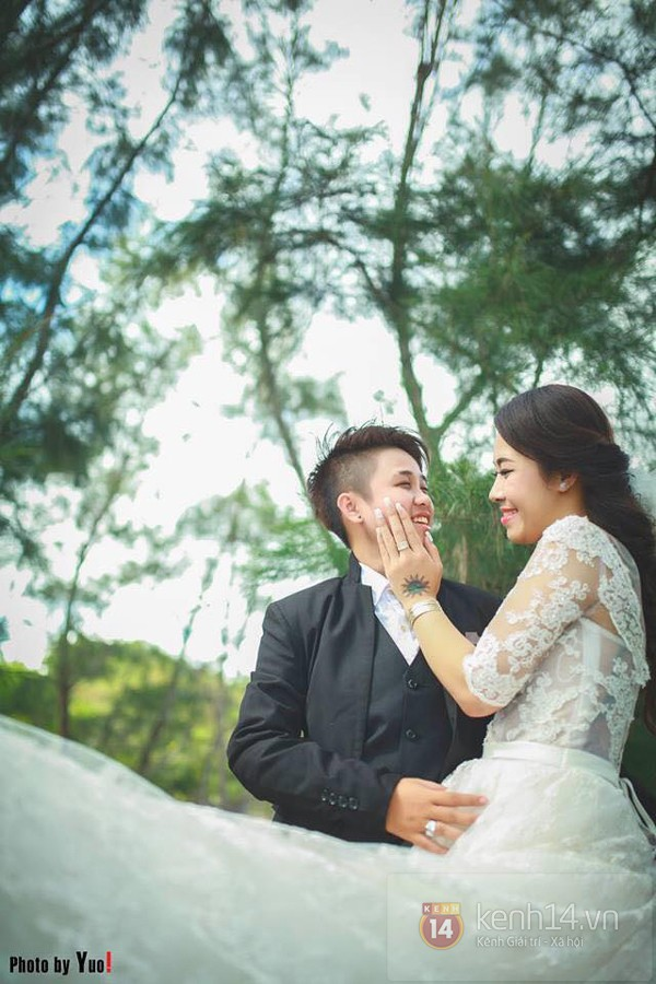 Cặp đôi đồng tính nữ ở Sài Gòn hạnh phúc trong ngày cưới 1417508966_15