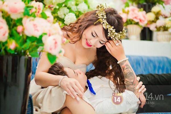 Cặp đôi đồng tính nữ ở Sài Gòn hạnh phúc trong ngày cưới 1417508966_16