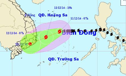 Thời tiết: Bão số 5 suy yếu thành áp thấp, miền Bắc rét sâu 1418288221_33