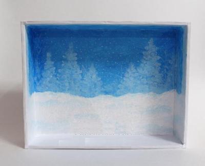 Handmade: Làm khung tranh 3D treo cho mùa Giáng sinh 1418351269_5