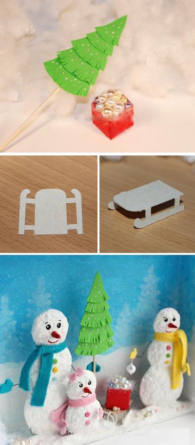 Handmade: Làm khung tranh 3D treo cho mùa Giáng sinh 1418351271_11
