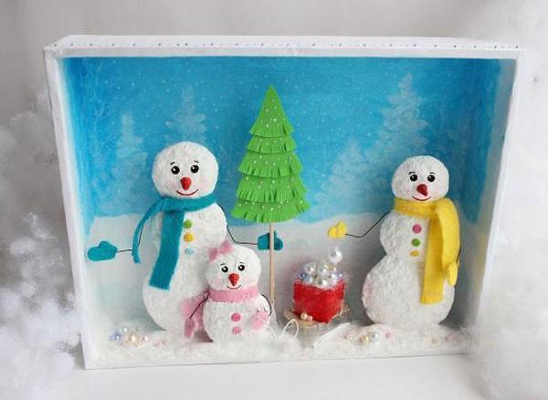 Handmade: Làm khung tranh 3D treo cho mùa Giáng sinh 1418351272_13