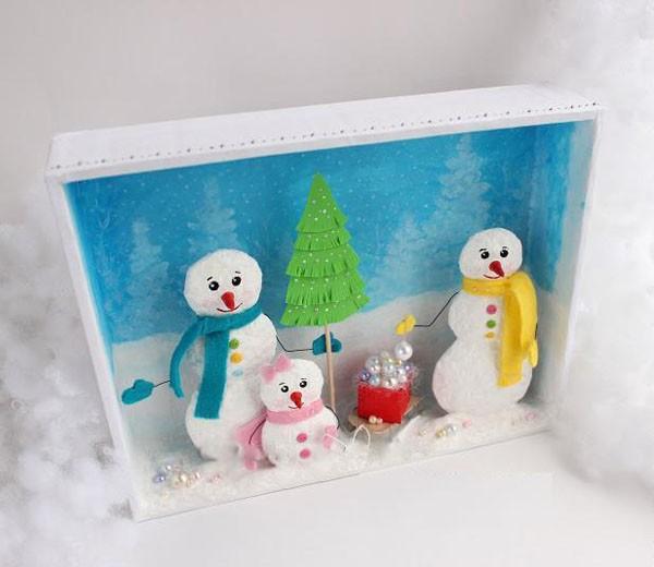 Handmade: Làm khung tranh 3D treo cho mùa Giáng sinh 1418351272_14