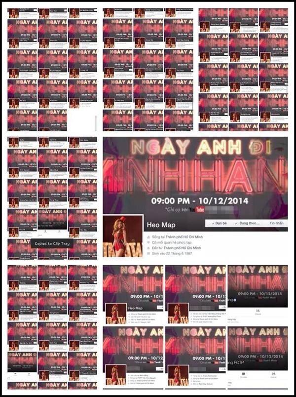 Fan nhuộm đỏ Facebook ủng hộ MV mới của Minh Hằng 1418021985_54