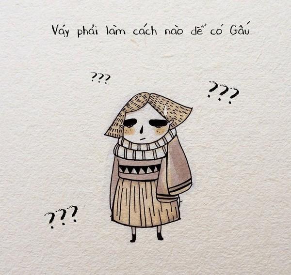"""Truyện tranh tình cảm: Câu chuyện đi tìm """"Gấu sưởi ấm mùa đông"""" của FA 1418193804_228"""
