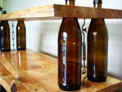 Бутылки в интерьере Butylki-v-interere-1