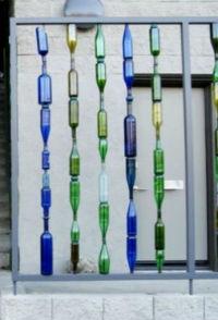 Бутылки в интерьере Butylki-v-interere-3
