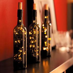 Бутылки в интерьере Butylki-v-interere-4