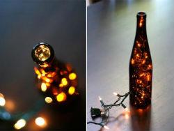 Бутылки в интерьере Butylki-v-interere