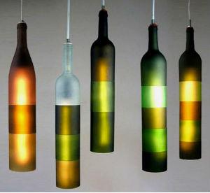 Бутылки в интерьере Primenenie-stekly%D0%B0nnyx-butyl%D0%BEk-11