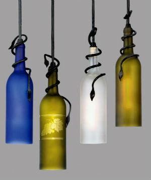 Бутылки в интерьере Primenenie-stekly%D0%B0nnyx-butyl%D0%BEk-3