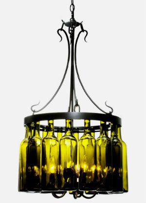 Бутылки в интерьере Primenenie-stekly%D0%B0nnyx-butyl%D0%BEk-4