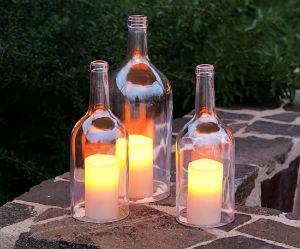 Бутылки в интерьере Primenenie-stekly%D0%B0nnyx-butyl%D0%BEk-6