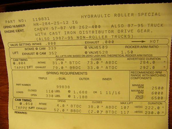 choix kit bas moteur stroker 383 bloc 2 boulons Mot05-10