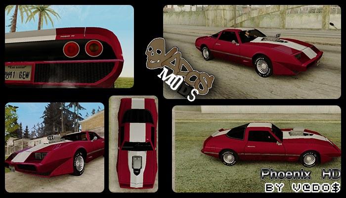 GTA SA - Carros originais em HD + Carros parecidos com os originais 56850626