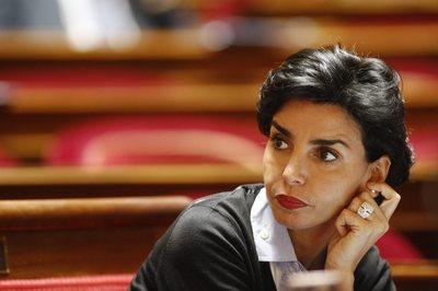 le Figaro retouche une photo de Rachida Dati à la une 1227190559