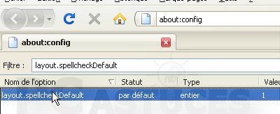 Corriger ses fautes d'orthographe dans Firefox 1227999031