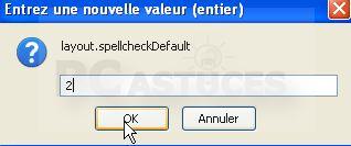 Corriger ses fautes d'orthographe dans Firefox 1227999133
