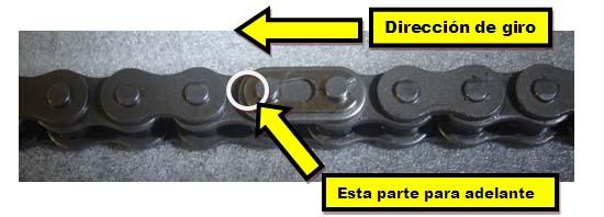 Desmontar Cadena RKV200 Empate-candado-cadena-moto