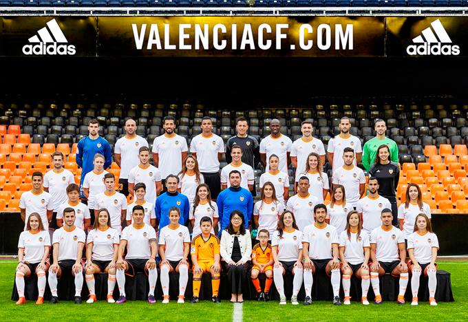 Hilo del Valencia C.F FotoOficialVCF