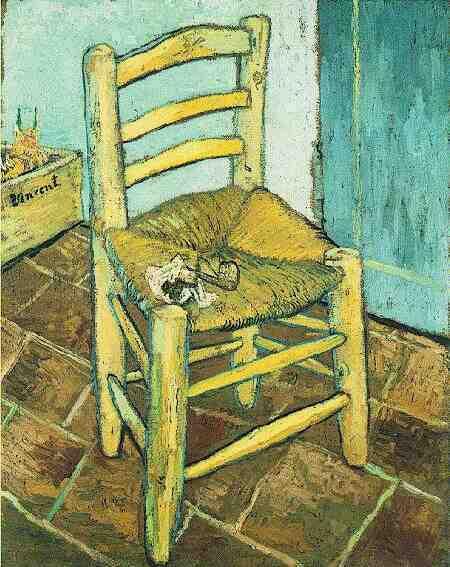 "Конкурс ""Картина"" Vincent-chair-with-his-pipe"