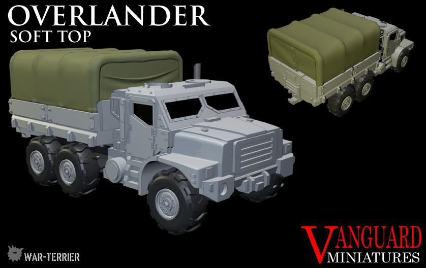 [Vanguard miniatures] Overlander-Soft-Top