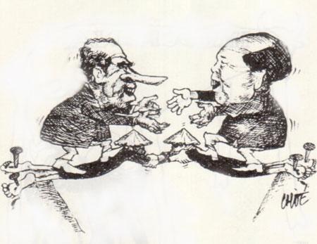 Ngày 30-4-1975, Hoa Kỳ chạy khỏi VNCH Mao-nixon-choe