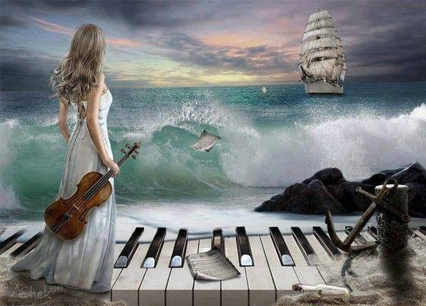 El mar azul.....la mar...sus olas 12891520