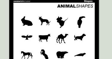 33 مجموعة اشكال لبرنامج Adobe Photoshop Unidentify