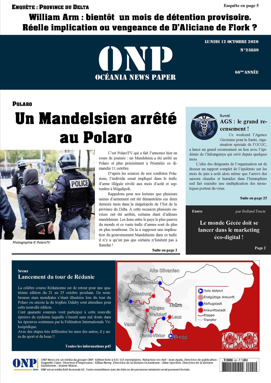ONP News N°23901 (samedi 24 octobre 2020) - Page 14 ONPNews23889