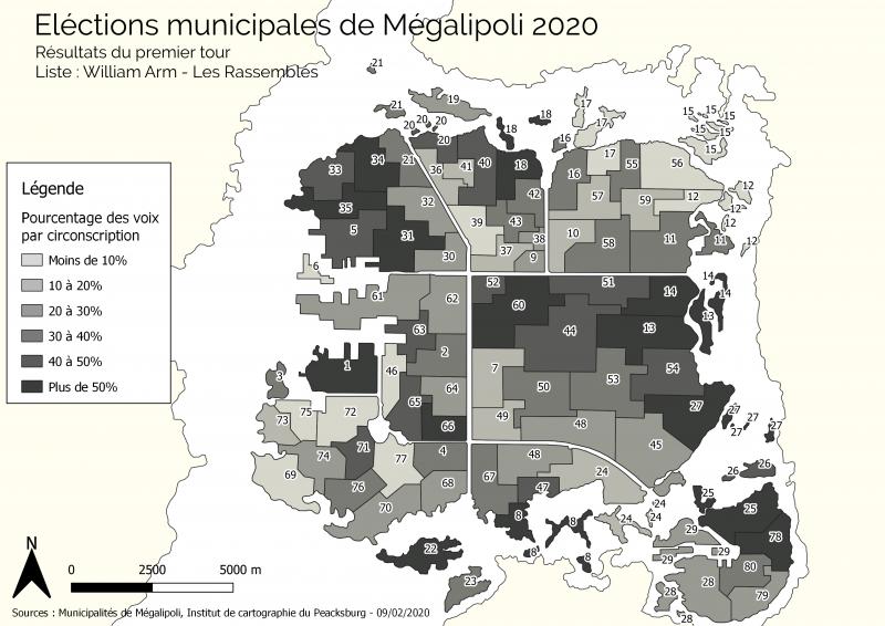 [SC4] Mégalipoli - Episode 10 et 3 nouvelles infrastructures ! - Page 11 800px-Municipales_result_T1_2