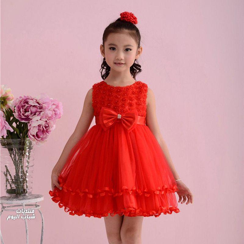فستان احمر حلو كثير 1484231398_310