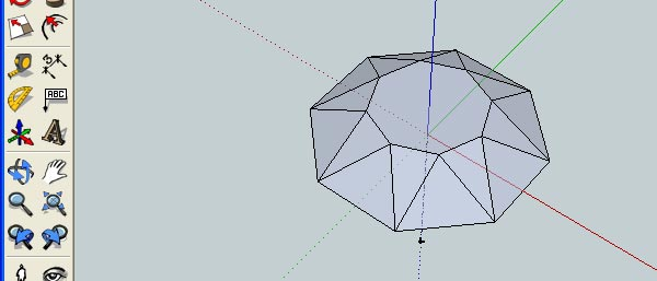 How to Create 3D Gemstones Using Adobe Illustrator and Google Sketchup 12