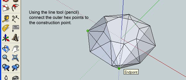 How to Create 3D Gemstones Using Adobe Illustrator and Google Sketchup 13