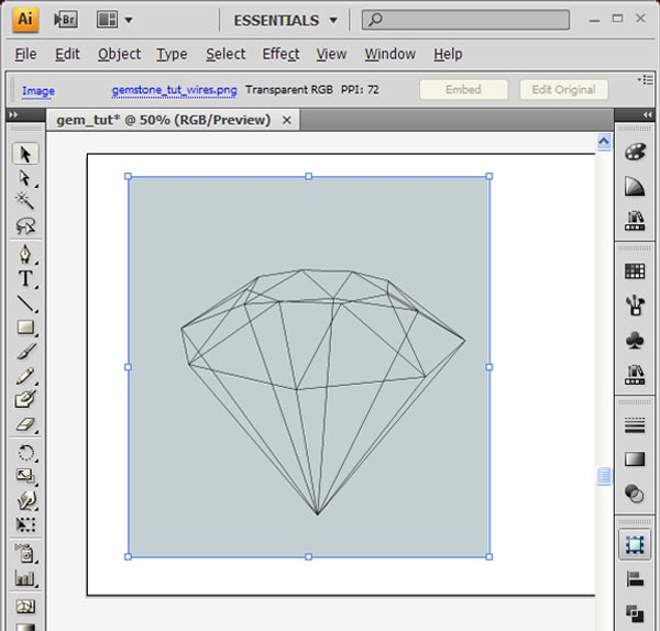 How to Create 3D Gemstones Using Adobe Illustrator and Google Sketchup 19