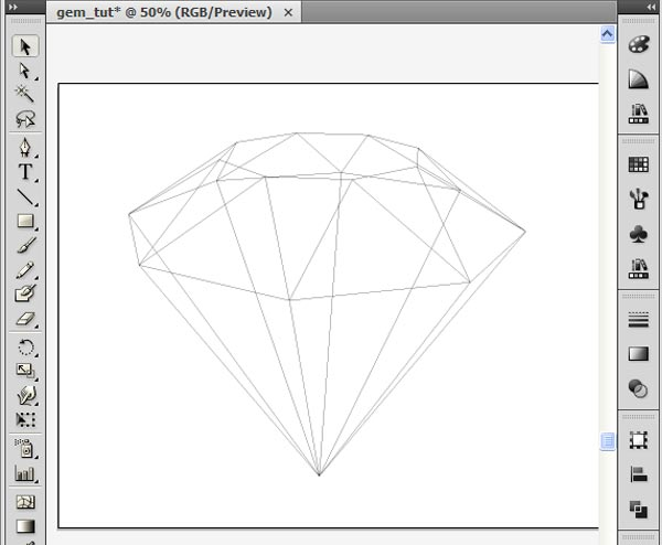 How to Create 3D Gemstones Using Adobe Illustrator and Google Sketchup 25
