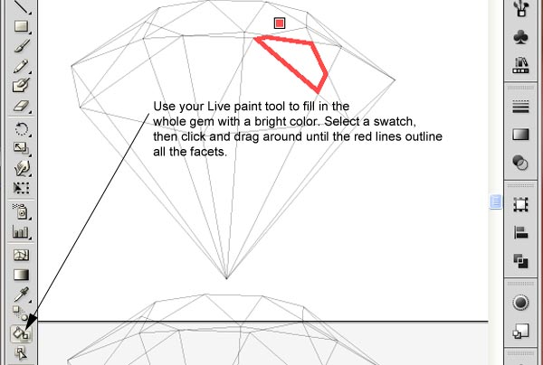 How to Create 3D Gemstones Using Adobe Illustrator and Google Sketchup 27