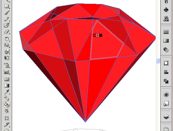 How to Create 3D Gemstones Using Adobe Illustrator and Google Sketchup 30