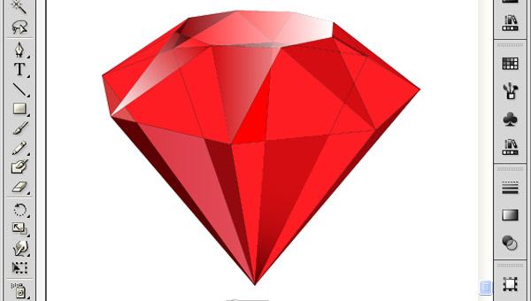How to Create 3D Gemstones Using Adobe Illustrator and Google Sketchup 36
