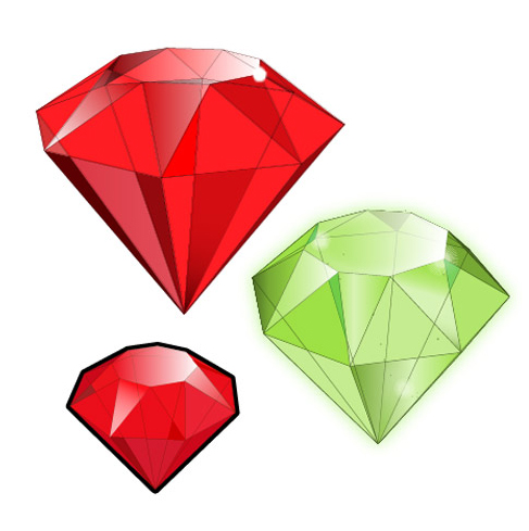 How to Create 3D Gemstones Using Adobe Illustrator and Google Sketchup 40