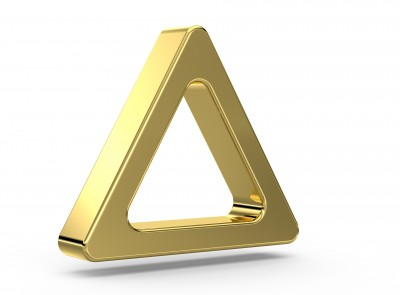 """Портал """"12.12"""" Ключ - золотой треугольник Metallic-Gold-Triangle"""