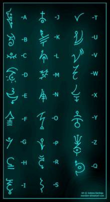 Все рунные знаки с 1-ого века н. э.(благодарность starfoks) S2818929