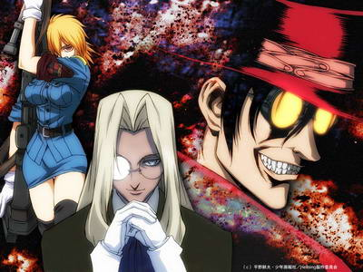 Animes favoritos Hellsing-anime