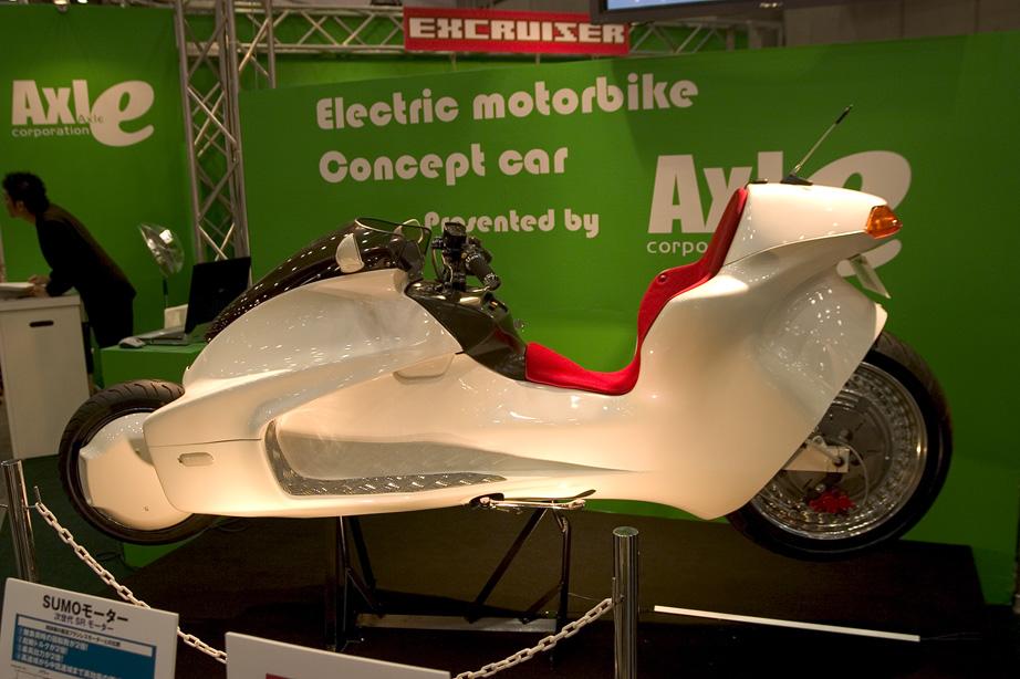 Pour le plaisir des yeux : moto électrique Axle EV-X7 MotoEVX7d