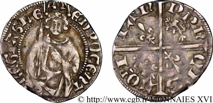 Hardi de Henry IV de Aquitania (1399-1413) V16_0808