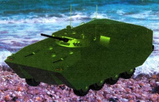Marine Assault vehicle (platform BMMP) Bmmp(1)