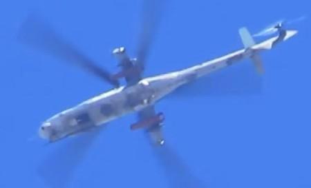 سوريا تحصل على مروحيات Mi-24P  Lyamin
