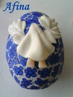 Лепка,декор из пластики ,теста и т.п к Пасхе Baae98ed9b17e36c317b5182fa99dfe1_1